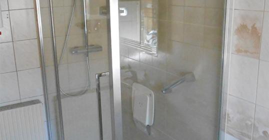 Umbau Badewanne zur Dusche, nachher