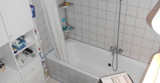 Badezimmerumbau (vorher)