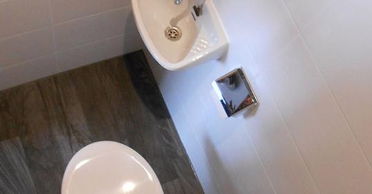 WC-Umbau nachher