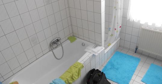 Badezimmerumbau vorher