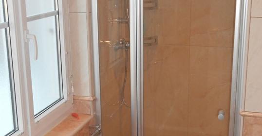 Renovierung Dusche nachher
