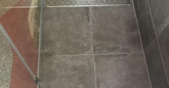 Teilrenovierung Dusche