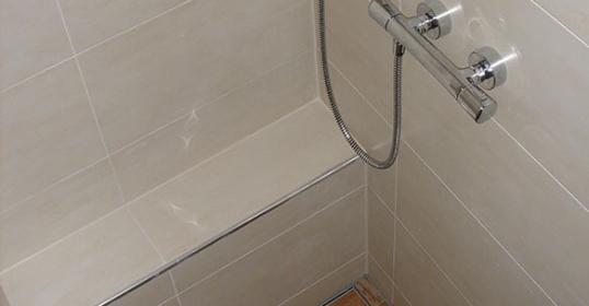 Umbau Dusche